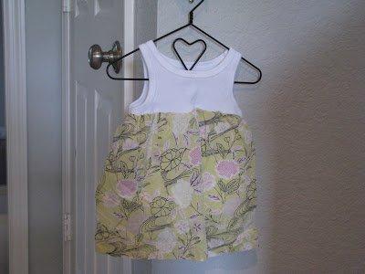 Ten Minute Onesie Dress