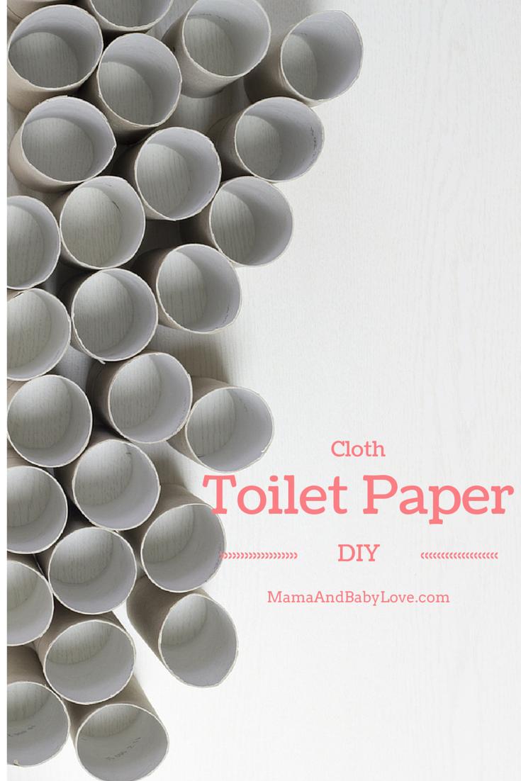 Cloth Toilet Paper DIY