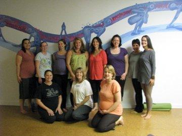 Should I go to a prenatal yoga class?