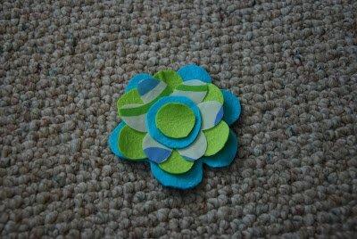 Felt Flower Headband 10