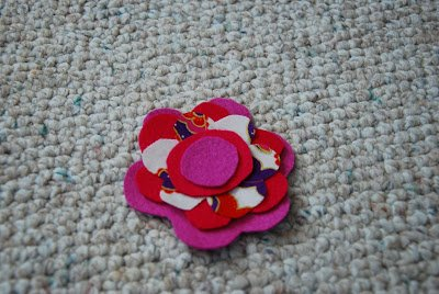 Felt Flower Headband 11