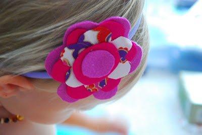 Felt Flower Headband 12