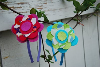 Felt Flower Headband 13
