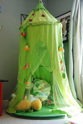 playroom play tent