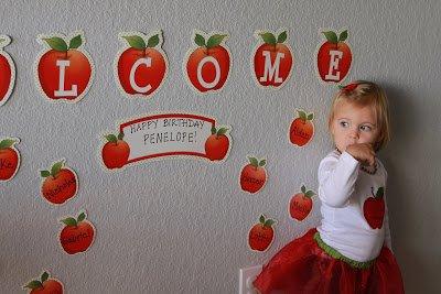 cute apple party ideas