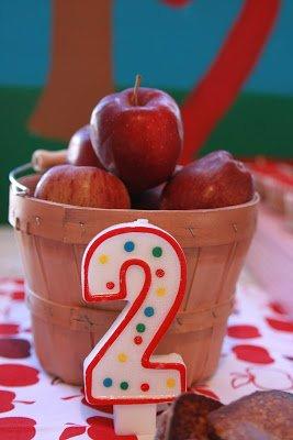 apple party decor ideas
