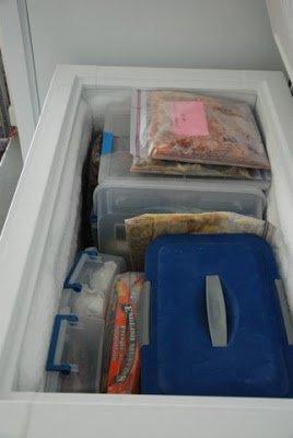Deep Freezer Organization Tips