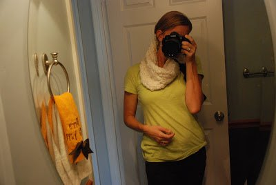Recycle Reuse Refashion Infinity Scarf for Mama