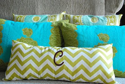 Zipper-Free, Removable, Pillow Cover DIY