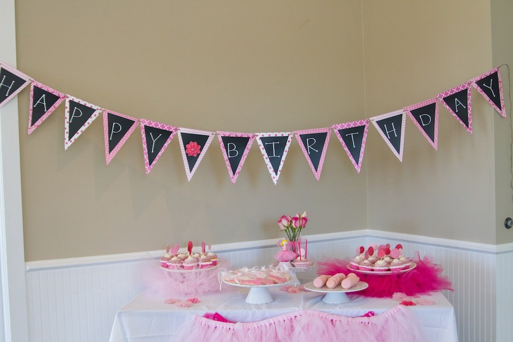 Ballerina Party Pictures and BIG Birthday Party Giveaway!