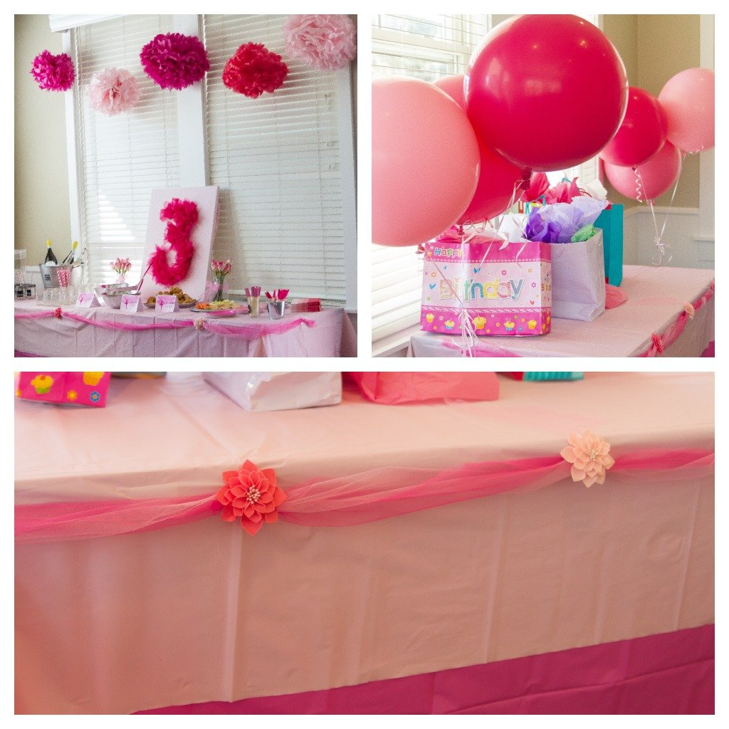 Ballerina party pictures and big birthday party giveaway for Ballerina party decoration