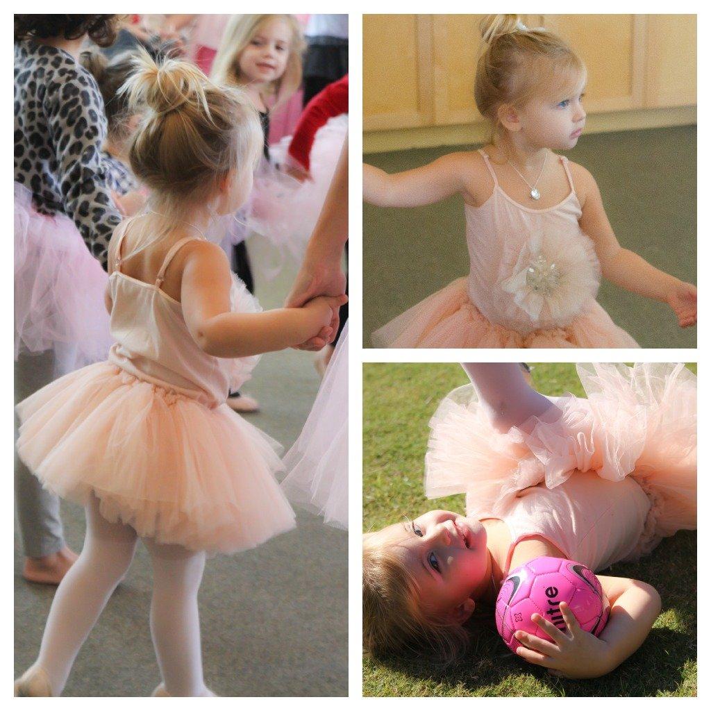 ballerina tutu dress collage