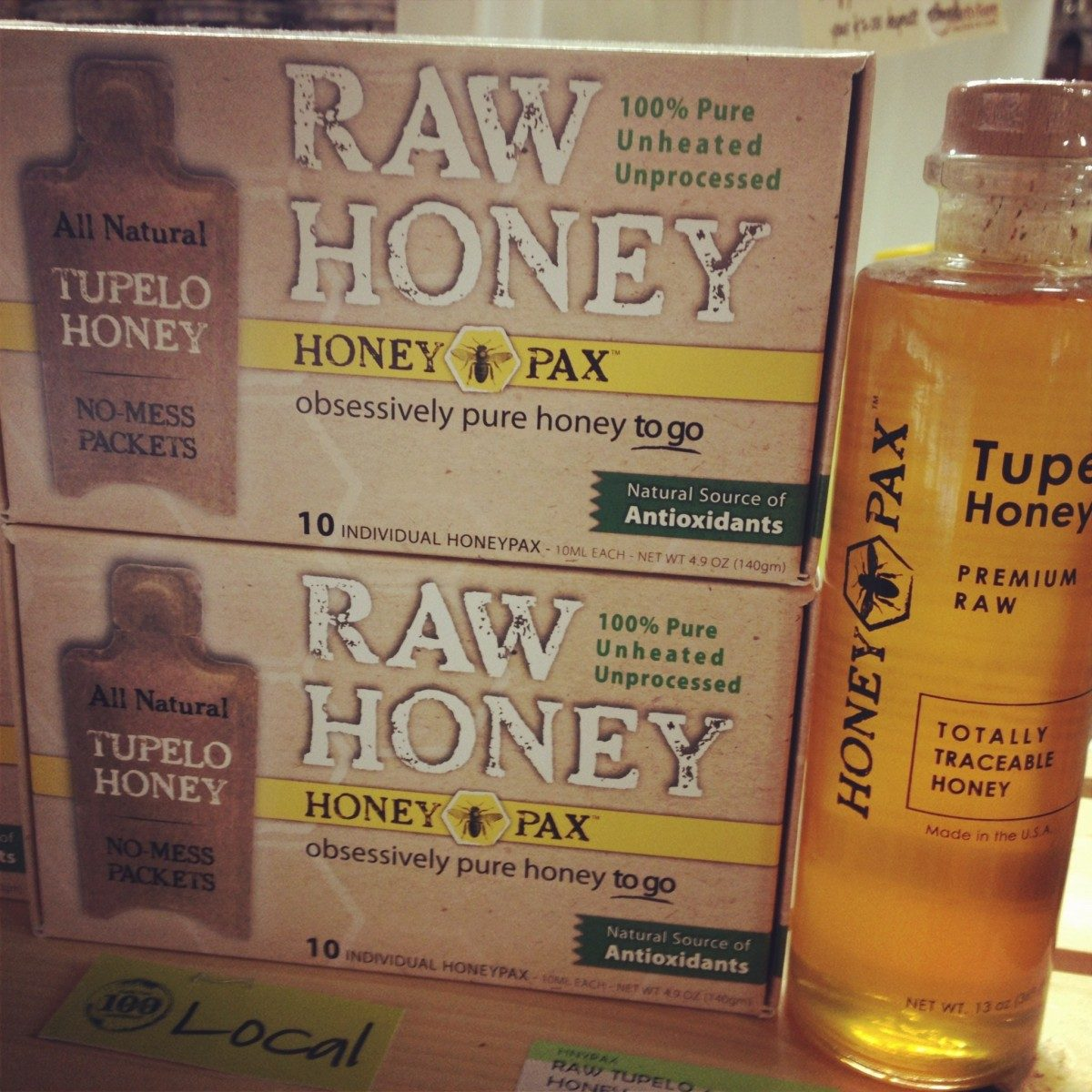 raw honey 660