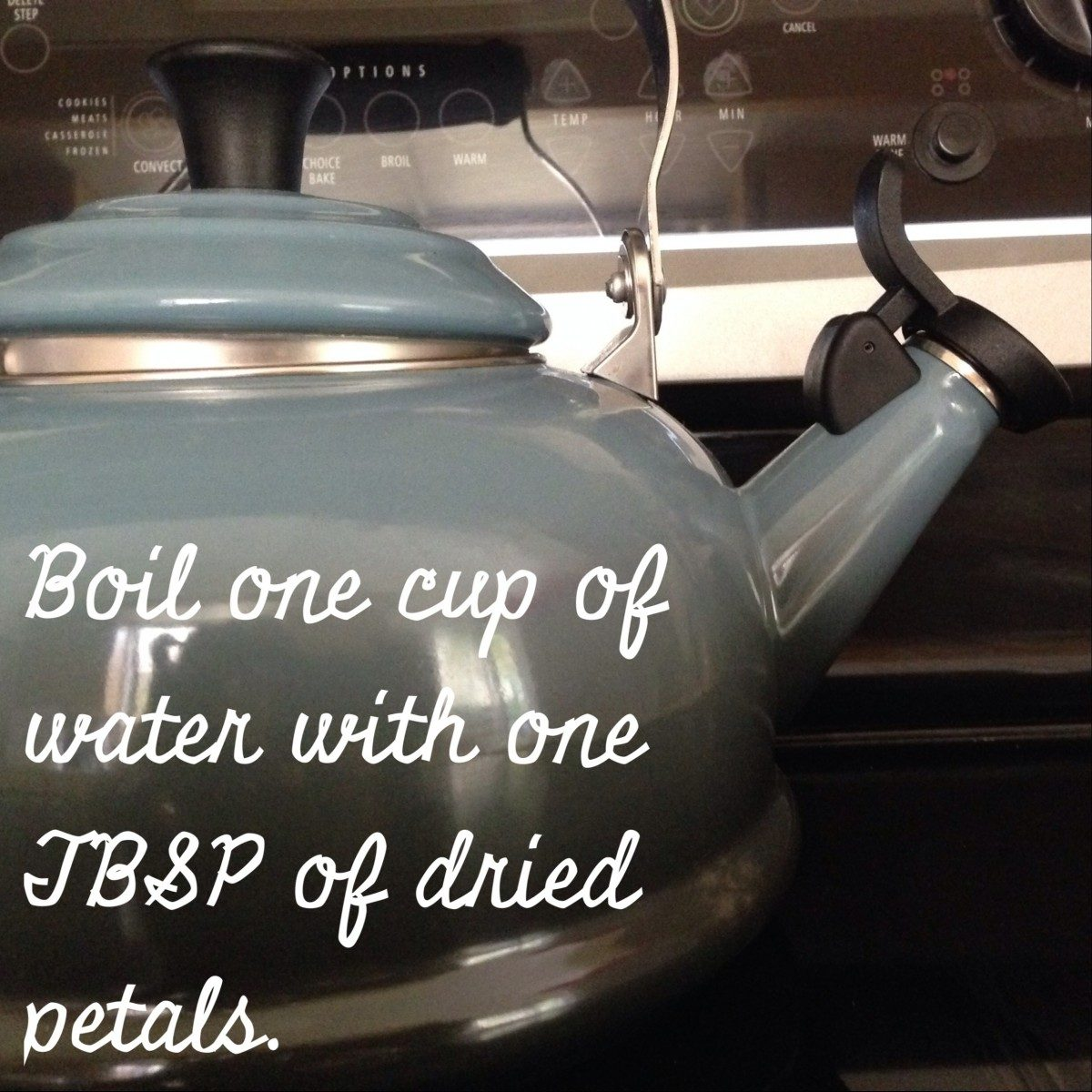 how to make marigold tea