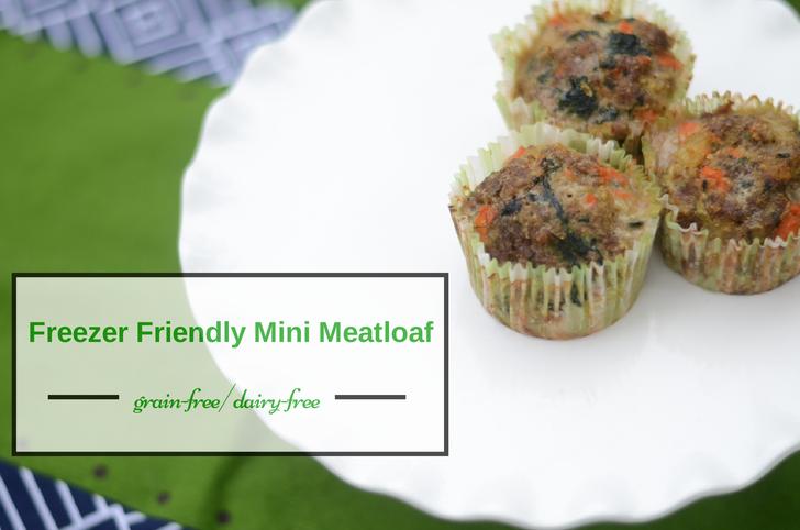 Grain-Free, Dairy-Free Mini Meatloaf