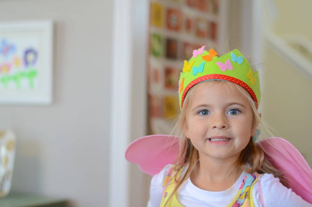 Enchanted Paisley Etsy Shop Butterfly Birthday Party Crown
