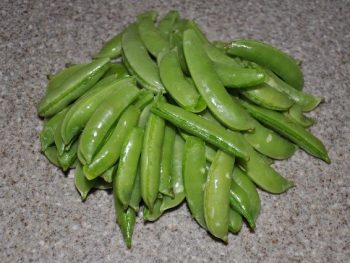 Sugar Snap Peas Baby Food 1