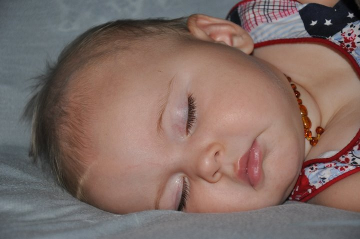 YOU put the baby to sleep!