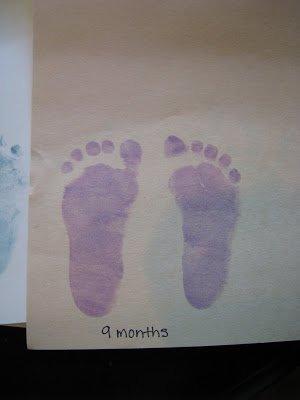 Baby Footprint Memories