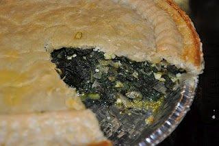Homemade Spinach Pie