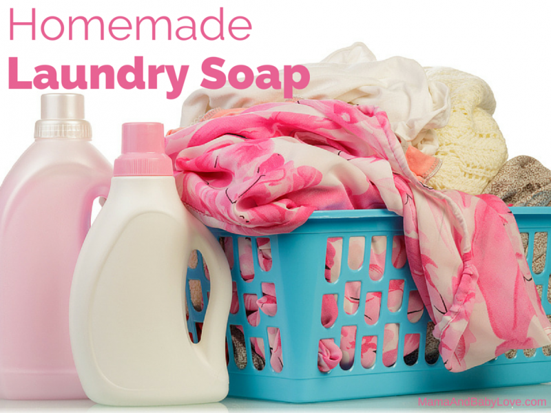 Homemade Laundry Soap 1