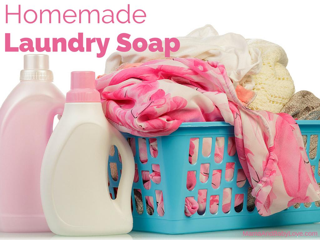 Homemade Laundry Soap 1