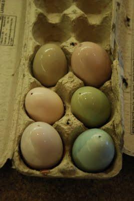Natural Easter Egg Coloring 1