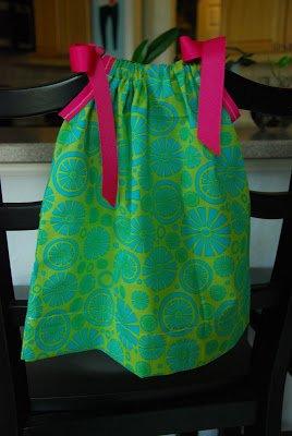 2 Fat Quarter Dress