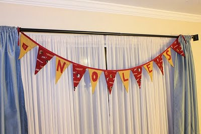 Party Banner Tutorial