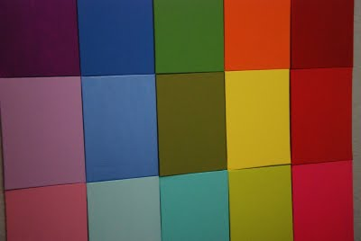 Canvas Rainbow Playroom DIY