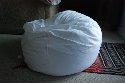 Bean Bag Chair Cover Tutorial