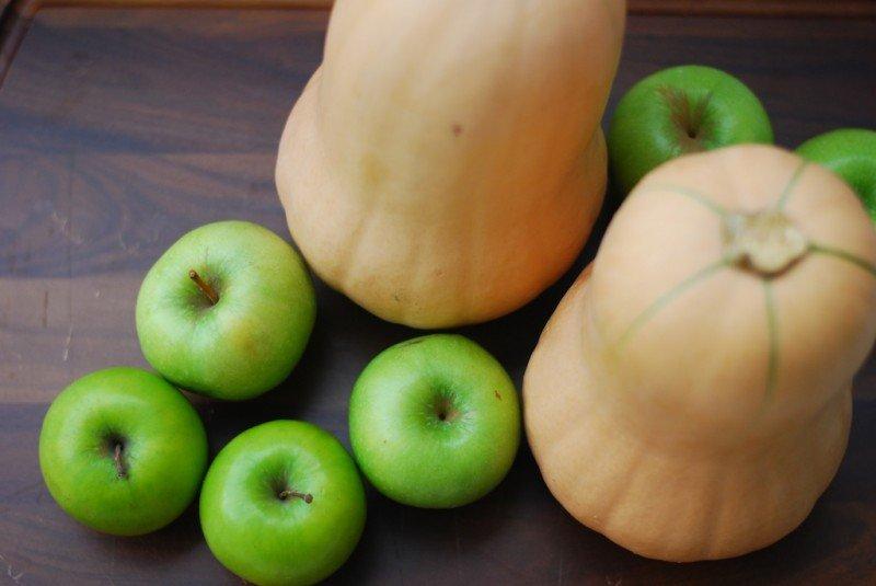 Apple-Butternut Squash Soup