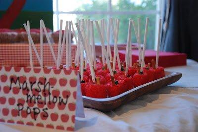 apple party treat ideas