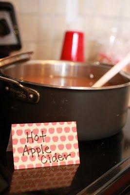apple party menu ideas