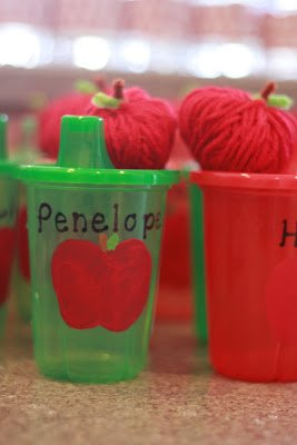 apple party decor ideas