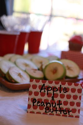 apple party menu ideas
