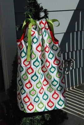 2 Dishtowel Christmas Pillowcase Dress