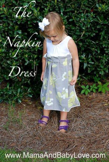 The $4, 5 Minute, Napkin Dress 4