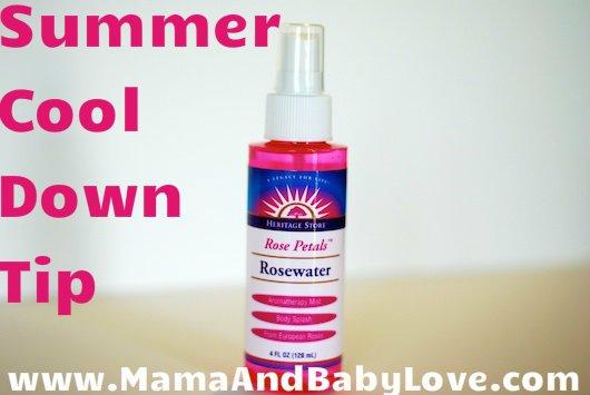 Summer Cool Down Tip: Rose Water