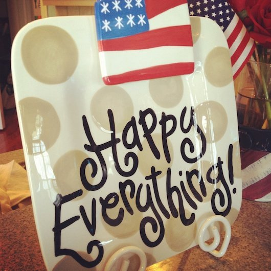 Coton Colors Giveaway- Happy Everything Platter and Cookbook, $250 value! 7