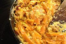 Sweet Potato Carbonara Video 1