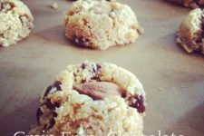 Grain Free Chocolate Almond-Coconut Cookies