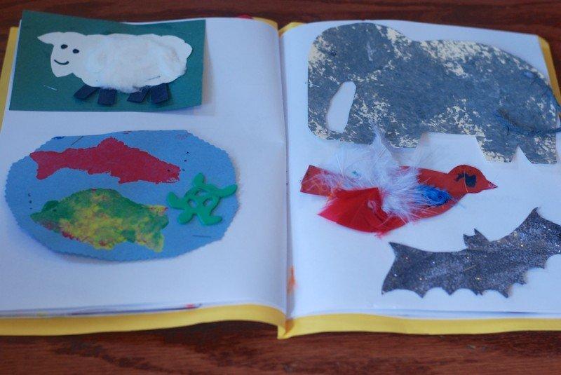 DIY Children's Artwork Book 1