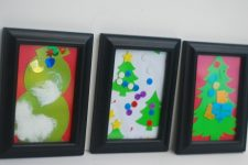 How To Display Your Child's Holiday Artwork 4