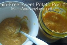 Grain-Free Sweet Potato Porridge