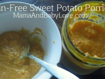 Grain-Free Sweet Potato Porridge