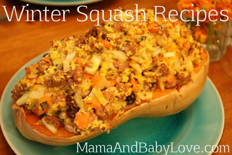 Winter Squash Recipes