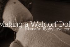 Making a Waldorf Doll 2