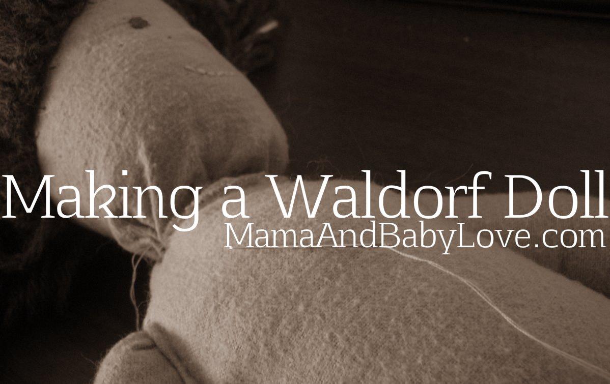 Making a Waldorf Doll 2