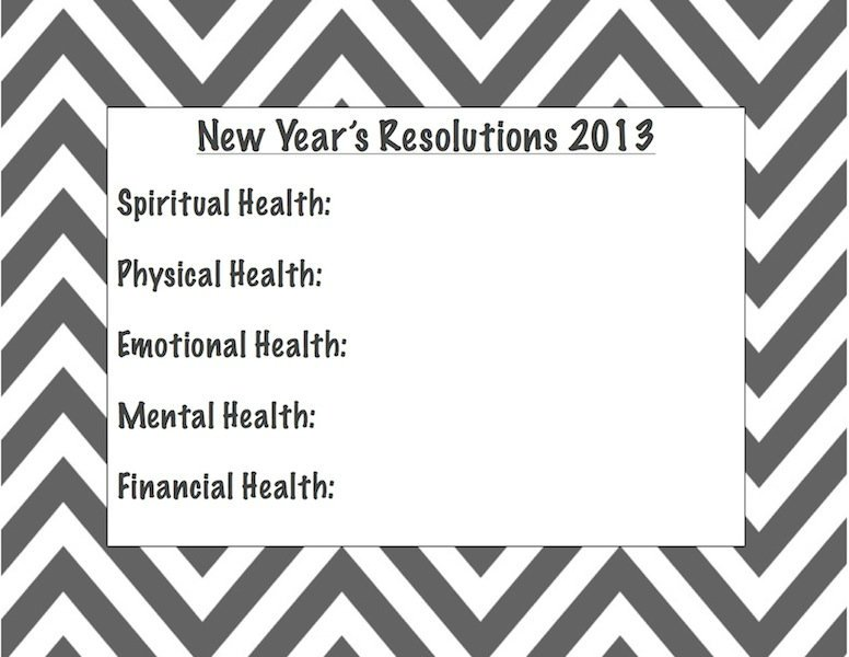 2012 Recap, 2013 Goals (with free printable) and Reader Survey!